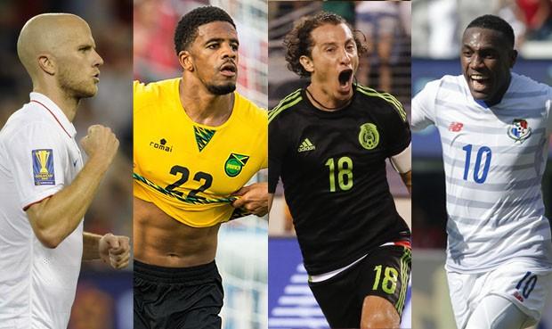 EEUU, Jamaica, México, Panamá