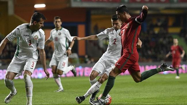 Cristiano Ronaldo Portugal vs Bulgaria