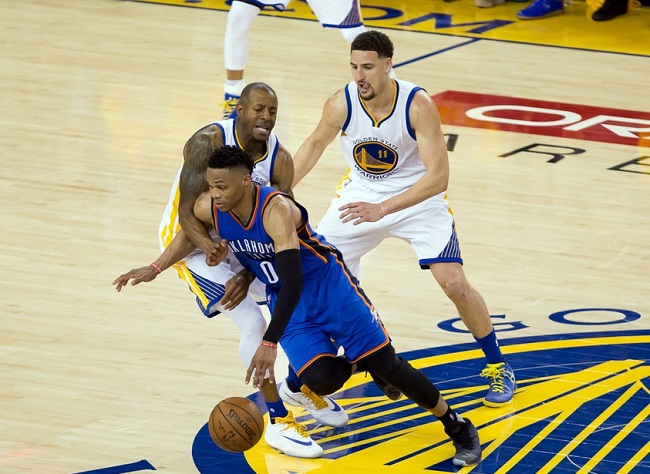 NBA: Playoffs-Oklahoma City Thunder at Golden State Warriors